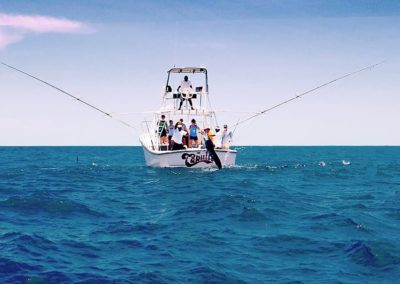 Capullo sportfishing in Tamarindo